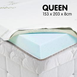 Cool GEL Memory Foam Mattress Topper - Queen