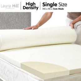 High Density Mattress foam Topper 7cm - Single