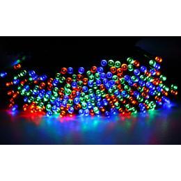 200led 25m Solar Power Thicker String Light Multicolor