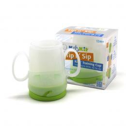Kids Kit Tip N Sip Kids Training Cup - White/Green
