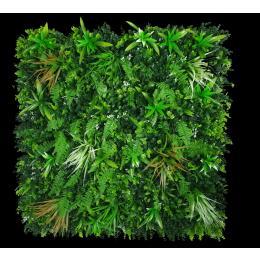 Artificial  Wild Tropics Vertical Garden UV stabilised 1m x 1m