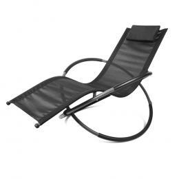 Zero Gravity Rocking Chair Beach Lounge Outdoor Recliner Folding Patio