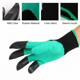 Gardening Gloves For Garden Digging 4 Claws Protection Gloves