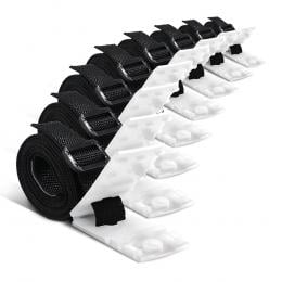 Pool Cover Roller Attachment Straps Kit 8PCS for Swimming Solar Pool