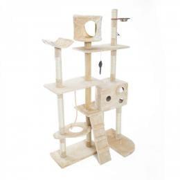 Cat Tree Scratcher DANIE 177 cm - BEIGE