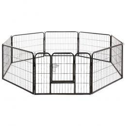 8 Panel Pet Dog Playpen Exercise Enclosure Fence Portable
