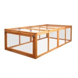 1.8m Pet Rabbit Hutch and Chicken Coop