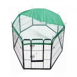 31in x 40in Heavy Duty 8 Panel Foldable Pet Playpen With Cover