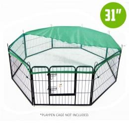 31in Cover for Playpen - Green