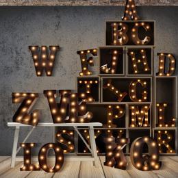 Alphabet Led Letter Lights V
