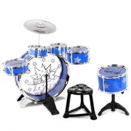 11 Piece Kids Drum Set