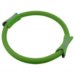 Powertrain Pilates Ring Band Yoga Home Workout Exercise Band Green