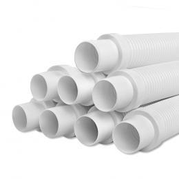 Pool Cleaner Hose EVA Spare Length Generic White Kreepy Krauly 8x120cm