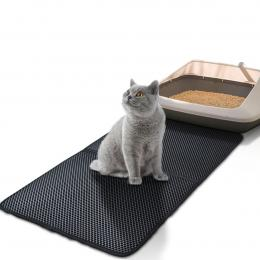 Waterproof Double-Layer Cat Litter Mat Trapper  Pad  Rug HomeComfort