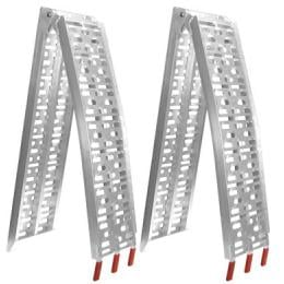 Heavy Duty Aluminium trailer ramps