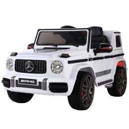 Mercedes-Benz Kids Ride On Car Electric AMG G63  Remote Cars 12V White