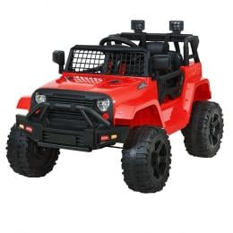 Kids Ride On Car Electric 12V Car Toys Jeep Battery Remote Control Red