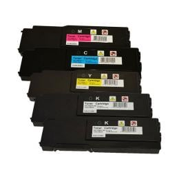 Suit Dell. 3760 Series Premium Generic Toner Set PLUS Extra Black