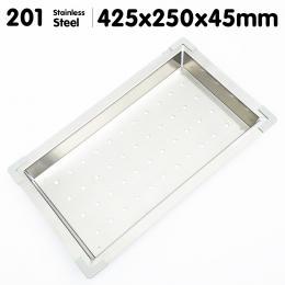 Stainless Steel Sink Colander 425 x 250mm
