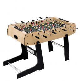 4FT Foldable Soccer Table Tables Balls Foosball Football Game