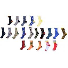 20pk Sock Standard Unisex Funky Novelty Party  Business Workwear-a