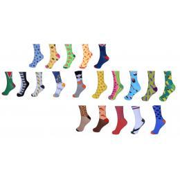 20pk Sock Standard Unisex Funky Novelty Party  Formal  Workwear-b