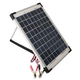 10w 12v Solar Panel 2 Amp Regulator RV Marine Trickle Battery Charger