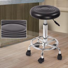 Hairdressing Salon Hydraulic Stool Barber Swivel Black