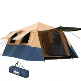 Instant Up Camping Tent 8 Person Pop up Tents Swag Family Hiking Beach
