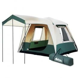 Instant Up Camping Tent 4 Person Pop up Tents Family Hiking Dome Camp