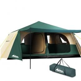 Instant Up Camping Tent 8 Person Pop up Tents Family Hiking Dome Camp