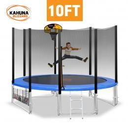 Kahuna Blizzard 10 ft Trampoline with Net