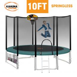 Kahuna Cyclone 10 ft Springless Trampoline with Net