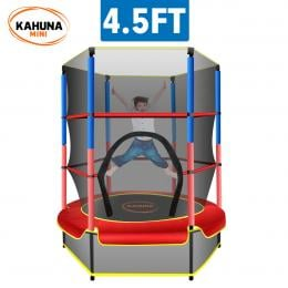 Kahuna Mini 4.5 ft Trampoline - Red Blue