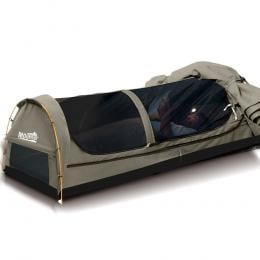 Mountview  Camping Swag with 2 Way Entry in King Single Size in Grey