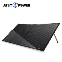 12V 200W Folding Solar Panel Kit Mono Caravan Boat Camping charging