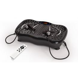 Vibration Machine Fitness Plate Bluetooth Massage Function Charcoal