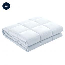 Laura Hill Weighted Blanket Heavy Qulit Doona 5Kg - White