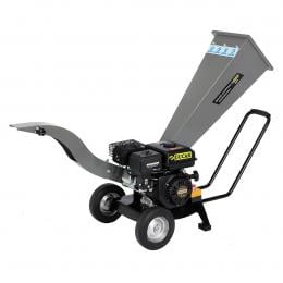 Ducar 7HP Wood Chipper Shredder Mulcher Grinder Petrol Silver