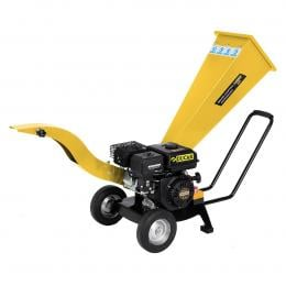 Ducar 7HP Wood Chipper Shredder Mulcher Grinder Petrol Yellow