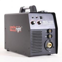 Traderight 180Amp Welder MIG ARC MAG Welding Machine Gas / Gasless