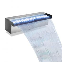 LED Light Water Blade Feature Waterfall 30cm Water Fountain