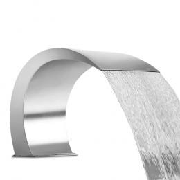 Curved Waterfall Blade Curtain Garden Water Fountain