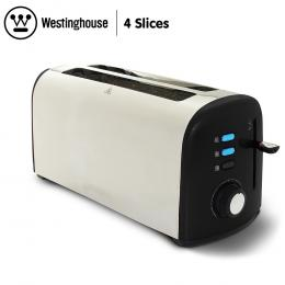 Westinghouse 4 Slice Toaster - Pearl Black