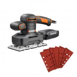 WORX WX641 250W 1/3 Sheet Finishing Sander