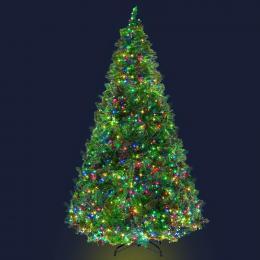 Jingle Jollys Christmas Tree LED 2.4M 8FT Xmas Home Decor