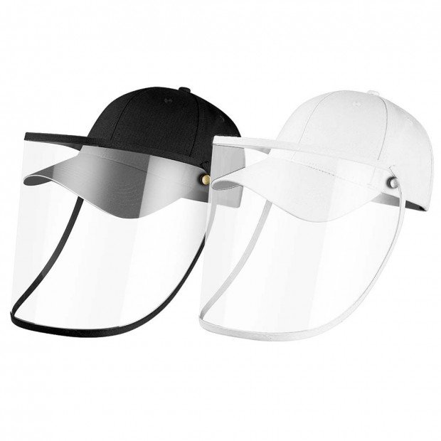 2X Outdoor Protection Hat Anti-Fog Pollution Dust Saliva Protective Image 1