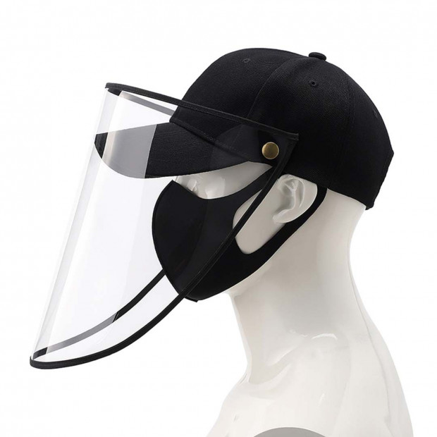 Outdoor Protection Hat Anti-Fog Pollution Dust Saliva Protective Image 1