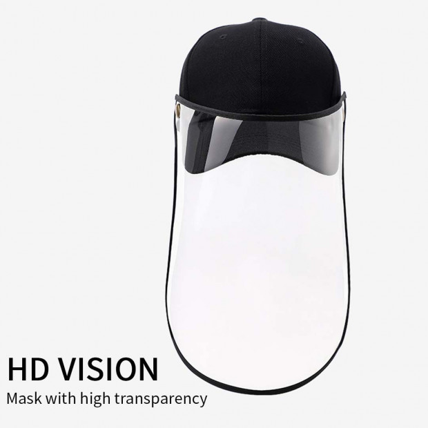 Outdoor Protection Hat Anti-Fog Pollution Dust Saliva Protective Image 2