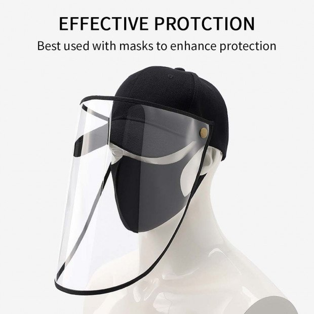2X Outdoor Protection Hat Anti-Fog Pollution Dust Saliva Protective Image 3
